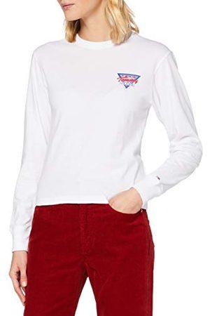 Tommy Hilfiger Dames Tjw Driehoek Terug Longsleeve Shirt