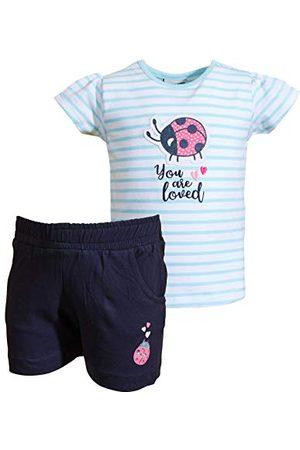 Salt & Pepper Baby-meisjes Lucky stripes broekset