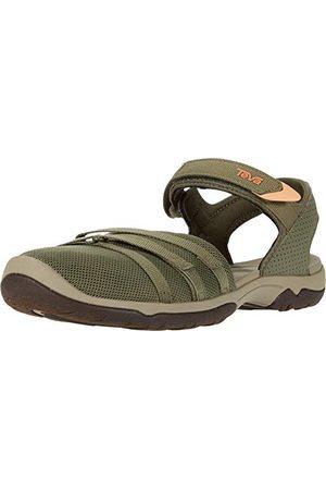 Teva Vrouwen Tira CT gesloten teen sandalen, (Burnt Olijf Btol), 7 (38 EU)