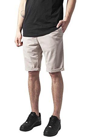 Urban classics Heren Stretch Turnup Chino Shorts