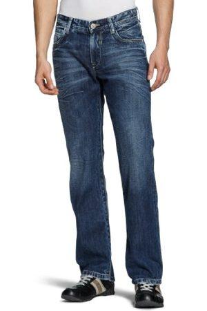 Cross Jeans heren jeanbroek/Lang E 160-321 / Antonio, Straight Fit (rechte broek)