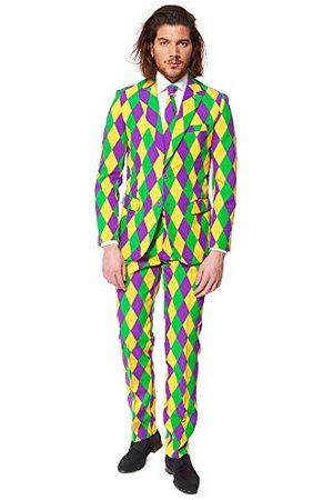 OppoSuits Grappige alledaagse galapakken voor heren - volledig pak: inclusief jas, broek en stropdas