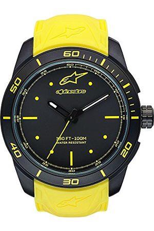 Alpinestars Unisex-Adult Analoog Klassiek Quartz Horloge met Siliconen Band 1037-96008