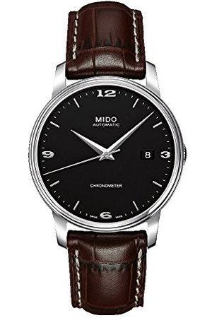 MIDO Heren analoog automatisch horloge met roestvrij stalen armband M0104081605110