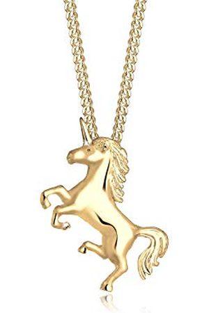 Elli Halsketting Einhorn Unicorn Magic 925 Sterling Silber