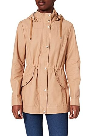Geox W Roose L-Poly Cotton Parka voor dames