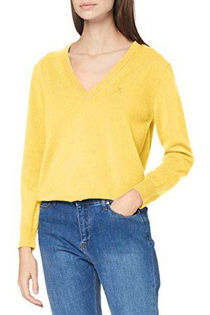 GANT Dames Pullovers - Dames Superfine Lambswol V-halspullover