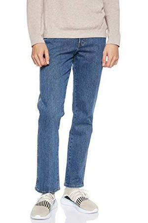 Wrangler Heren Straight - Texas Contrast Straight Jeans voor heren