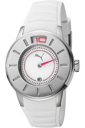 PUMA Time dameshorloge ring zilver analoog kwarts plastic PU102382001