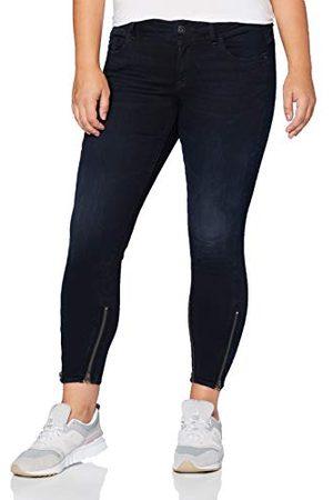 G-Star Dames Skinny - Lynn Skinny Jeans voor dames, 2-zip, halfhoge taille, skinny enkel