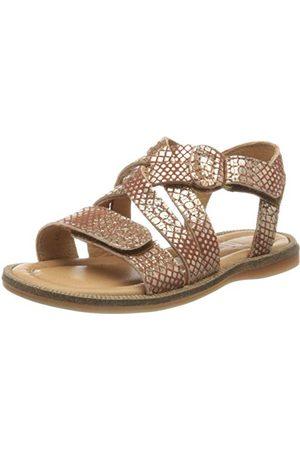 Bisgaard Dames Sandalen - 71934.120, open sandalen met sleehak meisjes 23 EU