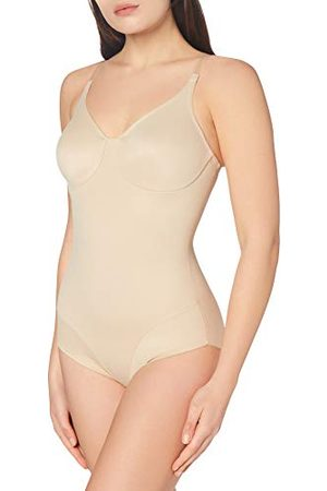 Miraclesuit Dames Body's - Vrouwen Body Gainant Confort Cuisse-Smooth Gegoten Cup BodyBriefer Wonderful Edge Bodysuit