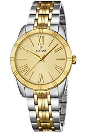 Festina Dames Horloges - Dames analoog kwarts horloge met roestvrij stalen armband F16941/1