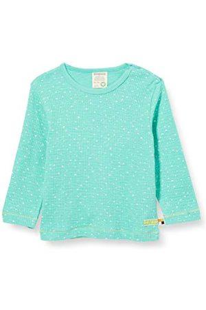 loud + proud Baby Lange mouw - Baby-meisjesshirt wafle knit organisch katoen lange mouwen