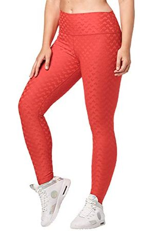 Zumba Fitness Hoge Taille Workout Fitness Compressie Activewear Gym Leggings Vrouwen, Ruby Love, S
