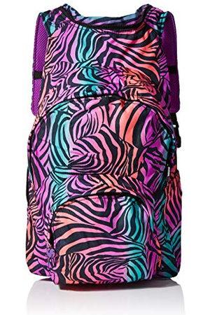 Morikukko Unisex-Adult Rugzak met capuchon Kool Zebra Rugzak Multi kleuren (Kool Zebra)