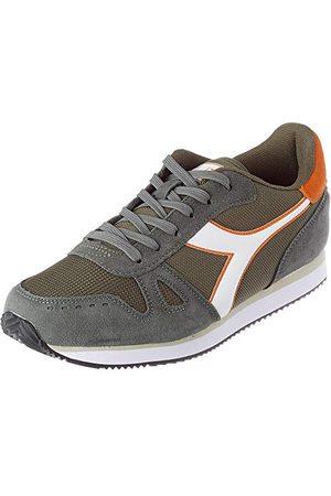 Diadora Sneakers Simple Run voor mannen, C8893 Moon Mist Druiven Leaf, 41 EU