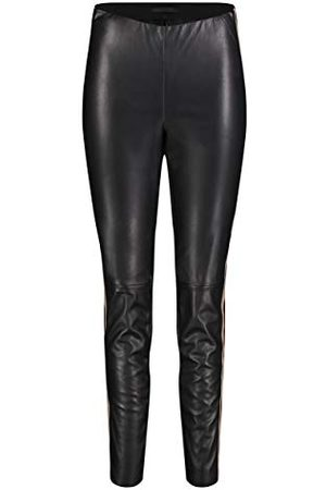 Mac Dames Straight - Dames Leggings Leather Galloon Straight Jeans