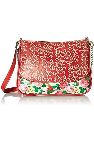 LAURA VITA 4237, Sling tas, clutch, bloemen dames Medium