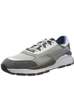 Geox Heren U Regale Een Lage Top Sneakers, (Lt /Dk Royal C1l4r), 7 UK