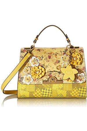 LAURA VITA 4232, Tas met handvat, bloemenmotief, vrouwelijk dames Medium