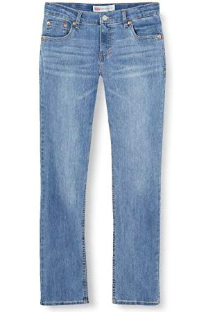 Levi's Meisjes Jeans - Kids Lvb 512 Slim Taper Jeans voor jongens - blauw - 10 ans