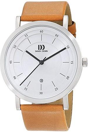 Danish Design 3314529 Analoog kwartshorloge voor heren, met leren armband