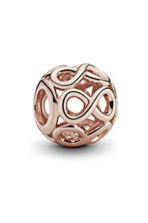 PANDORA Dames Ringen - Rose open bewerkte oneindigheidsbedeltje 14 karaat rosévergulde metaallegering 781872