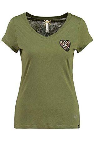 Key Largo Dames Wildheart T-shirt met V-hals