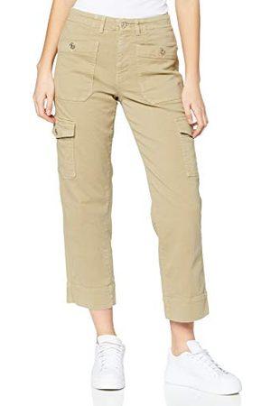 7 for all Mankind Dames Cargo's - Rechte cargobroek voor dames, casual broek.