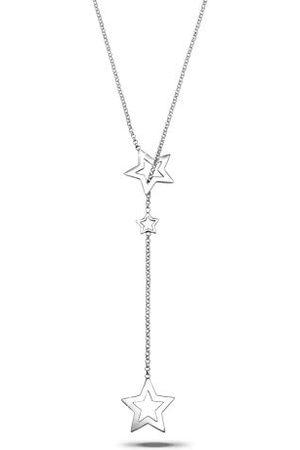 Elli Dames Kettingen - Halsketting Dames Sterren Hanger Filigraan in 925 Sterling