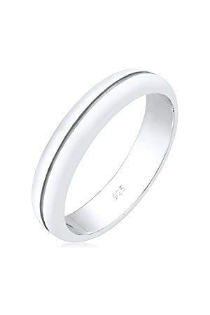 Elli Ringen Dames Engagement Elegant Basic in 925 Sterling