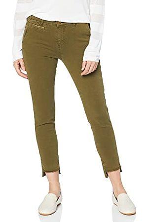 Yargıcı Dames Straight - Yargir dames straight jeans piping detail broek
