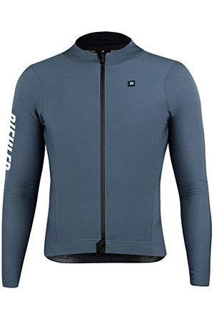 Biehler Heren 0414724.THRDS.XL T-shirt, Dark Silver, XL
