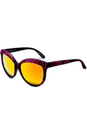 Italia Independent 0092-ZEF-053 zonnebril, meerkleurig (rojo/ ), 58.0 dames