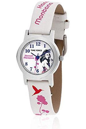 TIME FORCE Jongens analoog kwarts horloge met lederen armband HM1002