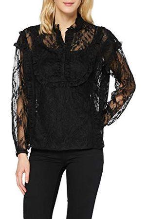 Herrlicher Dames Camellia kanten blouse