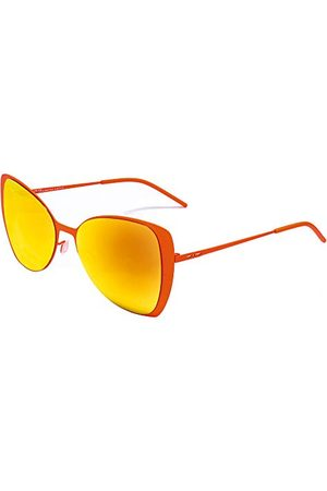 Italia Independent Dames 0204-055-000 zonnebril, (rojo), 55.0