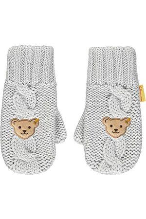 Steiff Meisjes Handschoenen - Meisjes met schattige teddybärapplicatie handschoenen