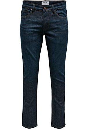 Only & Sons Heren Jeans, (Blue Denim Blue Denim), 33W x 34L