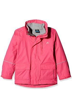 Trespass Prime II waterdichte 3-in-1 regenjas, functionele jas, weerbestendige jas met capuchon, uitneembare binnenjas van fleece voor kinderen, uniseks, meisjes en jongens