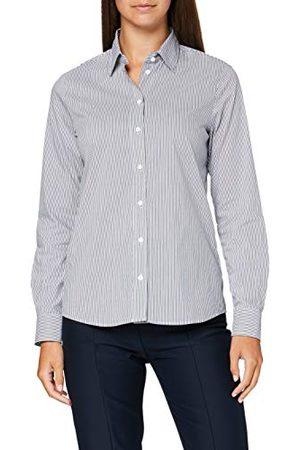 Seidensticker Hemdblouse voor dames, lange mouwen, gestreept, smalle blouse