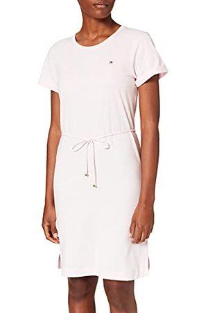 Tommy Hilfiger Dames Th Cool C-nk korte jurk Ss Casual