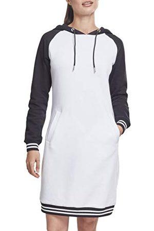 Urban classics Contrast College Hooded Dress Jurk voor dames