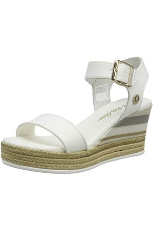 U.S. Polo Assn. U.S. POLO ASSN. Niva4 Canvas, sandalen met enkelband voor dames