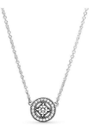 PANDORA Vrouwen zilveren hanger ketting - 590523CZ-45