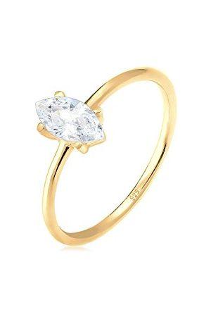 Elli Ringen Ringen Marquise zirconia minimalistisch 925 zilver