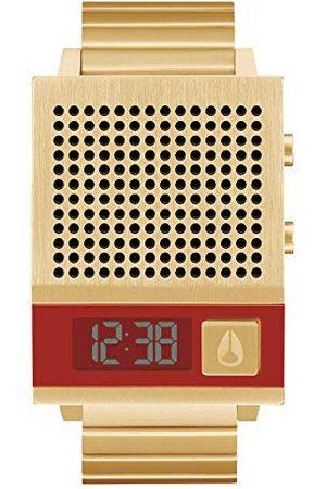 Nixon A1266-502-00 Digitale herenhorloge met roestvrij stalen armband