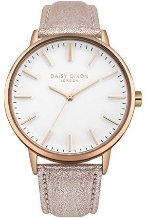 Daisy Dixon Dames analoge klassieke quartz horloge met PU riem DD061CRG