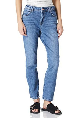 Noisy May NMOLIVIA NW Slim Straight MB NOOS Jeans, Medium Blue Denim, 30/32